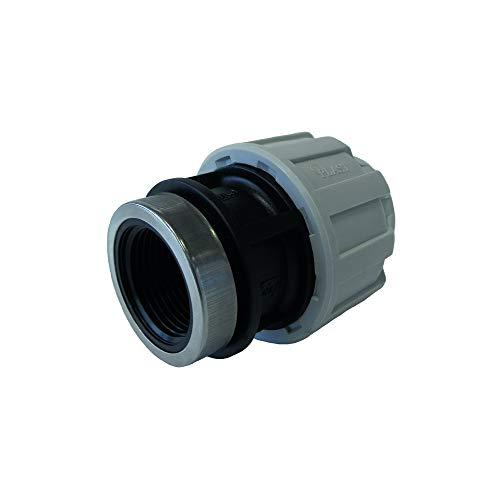 STP fittings 08335138 - Conector de PP con rosca interior, 25 mm x 3/4'