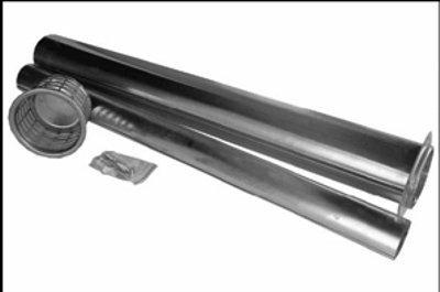 Abgasrohrset Außenwandheizgerät Erdgas oder Propan Wandstärken bis 700 mm