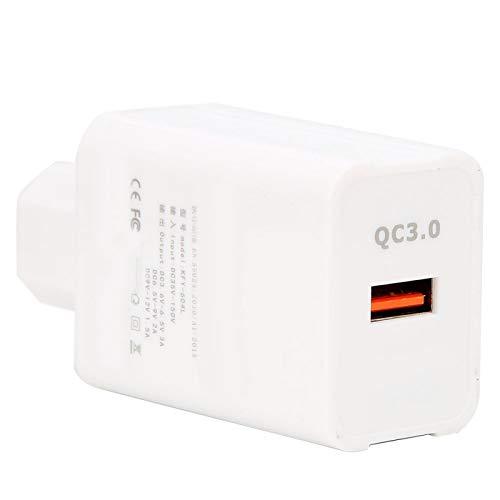 SALUTUYA Cargador portátil del Coche del Puerto USB del Cargador del Coche de la Carga rápida, Apto para el teléfono móvil, pequeño Altavoz