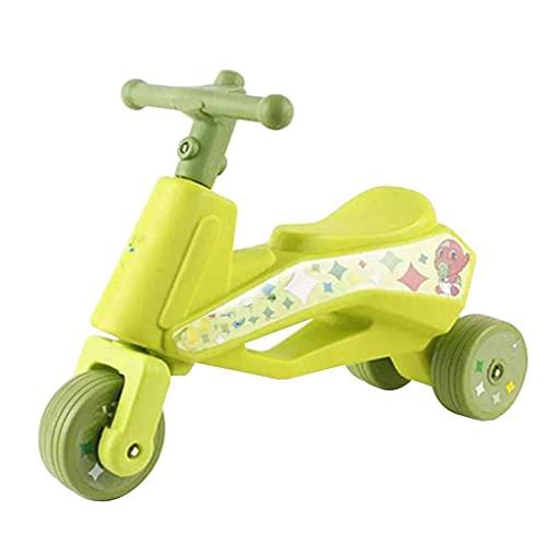 GPWDSN Upgrade Triciclo Triciclo Triciclo Present Trike Bicicleta de Equilibrio para bebé, Andador para bebé Bicicleta de Equilibrio para bebé sin Pedales para Evitar retrocesos Adecuado para niños