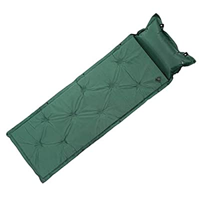 TOMSHOO Camping Sleeping Pad- 70.9 x 22 x 1 Inch Self Inflating Camping Pad, Compact Sleeping Pads for Backpacking, Hiking Air Mattress with Pillow, Comfortable Camping Air Mattress for Outdoor