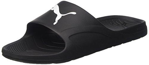Puma - Divecat, Zapatos de Playa y Piscina Unisex Adulto, Negro (Black-White 02), 44.5 EU