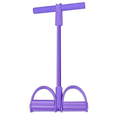 KKAAMYND 1 x multifunktionales Fitnessgerät, Pedal-Abzieher für Männer und Frauen, für Sit-Ups Training, Yoga-Griff für Fitness, Pink, Schulterübungen, Handübungen, Beinübungen in der Privatsphäre.