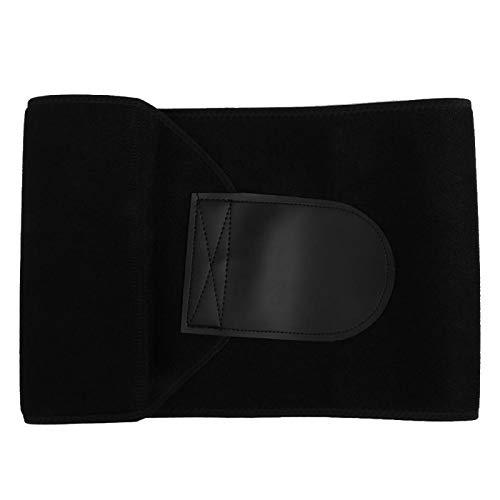 Tomantery Cinturón Protector Cinturón de Cintura elástico Multifuncional Bolsillo de Cintura para Sudar para Deportes para Gimnasio(M (20cm*105cm))