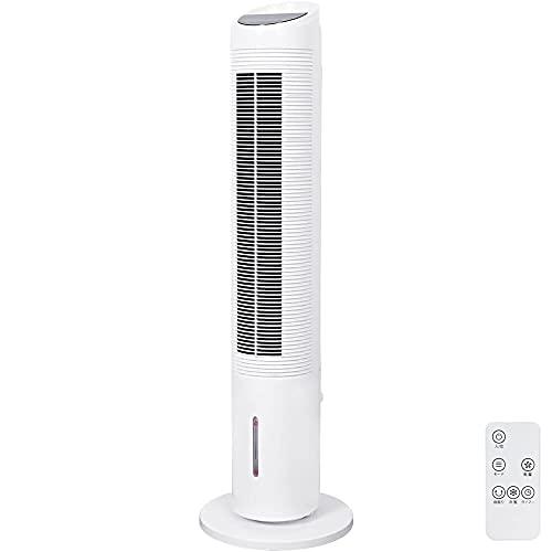 Bonarca 冷風機 冷風扇 タワーファン 高さ108㎝ 左右52° 首振り 風量3段階 3種類の運転モード オフタイマー リモコン付き WTF-100(WH)