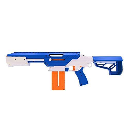 Jet Blaster 560642 - CEDA Dartblaster, Nerf-kompatibler Spielzeugblaster, Farbe: Blau