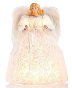 Holiday Lane Light Up Angel Tree Topper