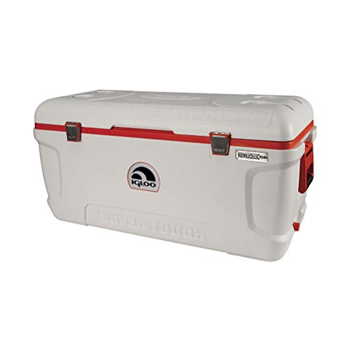 Igloo Super Tough 150 Quart STX Cooler with Stainless Steel Straps