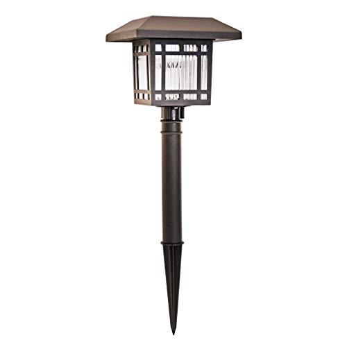 JLXW Solarlampen voor buiten, led-padverlichting, decoratie voor paren met lampenkap van glas voor zonne-pad, waterdicht voor gazon