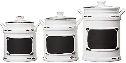 Vintage ceramic kitchen canisters