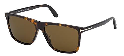 Tom Ford Gafas de Sol FLETHCER FT 0832 Dark Havana/Roviex 57/15/145 hombre