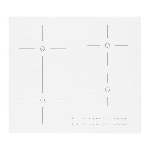 IKEA BEJUBLAD Induktionskochfeld in weiß; (59cm)