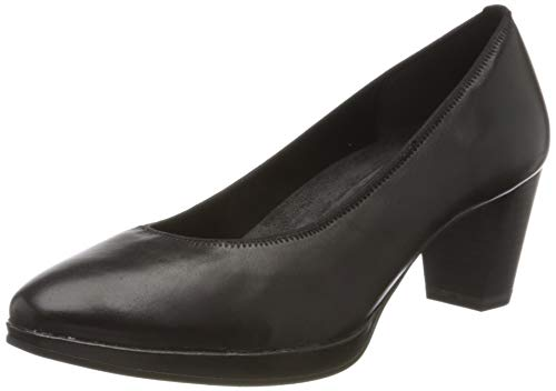 Marco Tozzi 2-2-22400-34, Zapatos de Tacón Mujer, Negro (Black Nappa 022), 40 EU