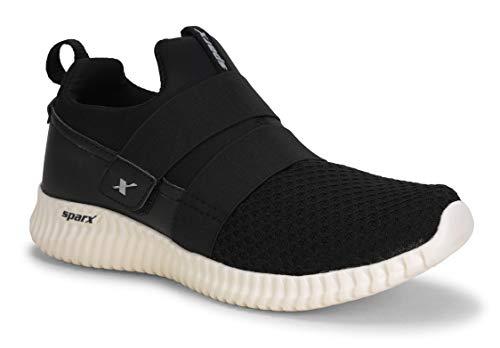 Sparx Men's Black Beige Running Shoes - 7 UK (41 EU) (SX0406G)