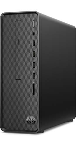 HP S01-AF0001NA Slim Desktop Quad-Core Intel Pentium Silver J5005 hasta 2.8 GHz, 8GB DDR4 SDRAM, 256GB NVMe SSD, Wireless 11ac, DVD RW, Windows 10 Pro 64bit