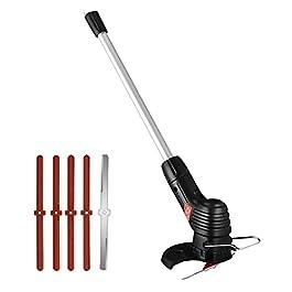 Coupe bordure sans fil avec batterie, Tondeuse à gazon électrique sans fil, coupe-herbe rechargeable pour jardin avec…