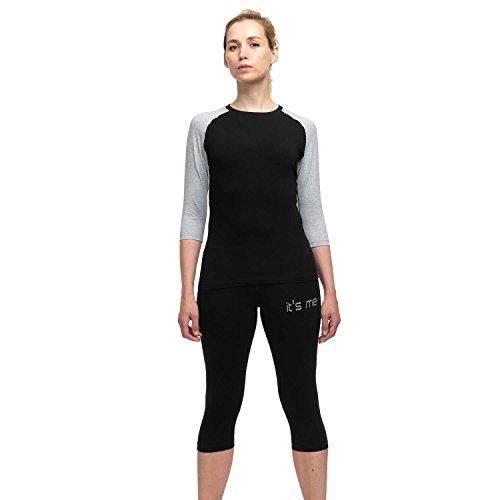 It\'s Me EMS-Kleidung | Set 4 | Kompatibel mit Allen EMS Anbietern | Unisex | OekoTex100 Siegel | Stoff 220gramm/m²=Lange Lebensdauer |