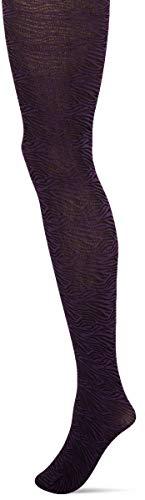 Hudson Zebra Medias, 60 DEN, Violett Viola 0521, 38