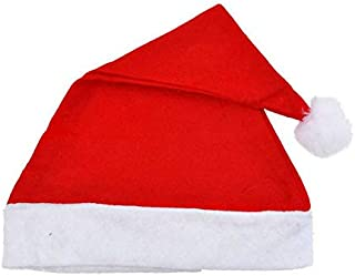 HOME REPUBLIC 1 Piece Christmas Hats, Santa Claus Caps for Kids and Adults, Free Size, Xmas Caps