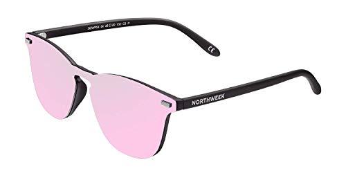 Northweek Unisex-Erwachsene Wall Phantom Pipe Sonnenbrille, Pink (Rose Gold), 136.0