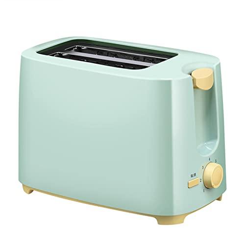 MYJSY Toasters 2 Rebanisa, Acero Inoxidable de Whall, Tostadora de Bagel - 6 Ajustes de Sombra de Pan, Función de descongelación y cancelación, 1.5 En Anchos, Bandeja de miga extraíble