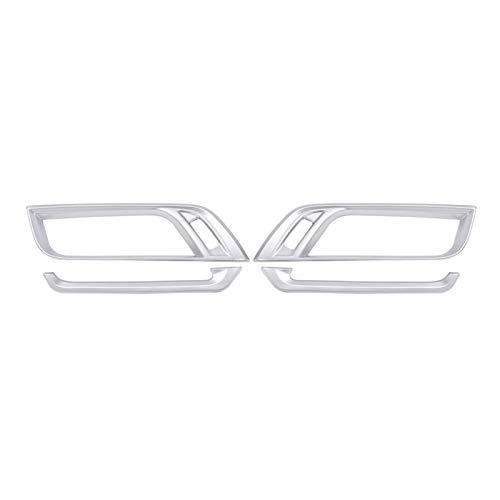 ZXZCV Para ABS ABS Chrome Aire Aire Acondicionado DE VENTILACIÓN DE Ventilador DE VENTILACIÓN Ajuste para -BMW X1 2016-2020