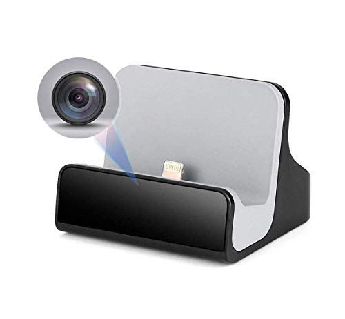 Spy Camera,Hidden Camera,1080P iPhone Charger Hidden Camera Nanny Cam USB Charger Camera Hidden Spy Cam with Motion Detection 1080P Full HD, WiFi, Cell Phone App (iPhone Charger)
