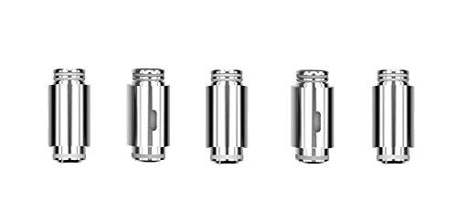 Viva Kita  Cabezas de evaporador Cabezal de bobina de 5 paquetes Sin nicotina, Sin tabaco para la bobina Viva Kita Fusion (0.25ohm)