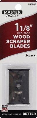 1B 1-1/8-In. 2-Edge Scraper Blades, 2-Pk. - Quantity 10