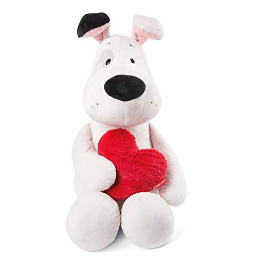 NICI 46078 Kuscheltier Love Hund 70cm, aus Plüsch, süßes Stofftier für Kinder und Kuscheltierliebhaber, 70 cm