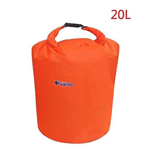CGMZN Sac à Dos Bluefield Waterproof Dry Bag 20/40/70L Dry Sack Outdoor Water Bag Camping Climbing Rafting Swimming Bag Kayak Storage Travel Kit