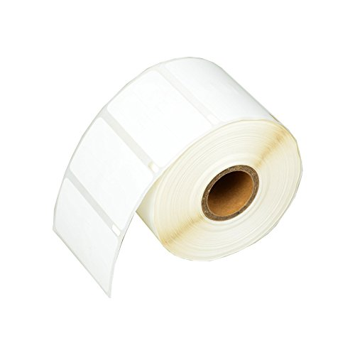 """NineLeaf 1 Rolls (1,500 Labels per Roll) 3/8"""" x 3/4"""" 10mm x 19mm 30299 LabelWriter Self-Adhesive Jewelry/Price Tag 2-up Labels Compatible for Dymo 400 Twin Turbo 450 450 Duo 450 Turbo 450 Twin"""