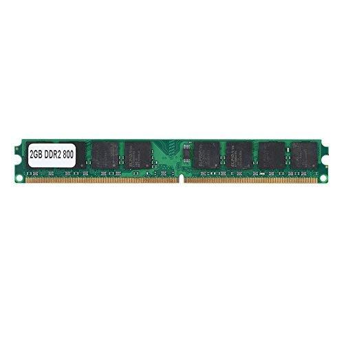 Richer-R Arbeitspeicher 2GB DDR2 800MHz, DDR2 2G 800 MHz PC2-6400 PC Speicher Ram,240Pin Laptop-Speicher RAM Memory Kompatibel für Intel/AMD PC2-6400 Desktop Computer