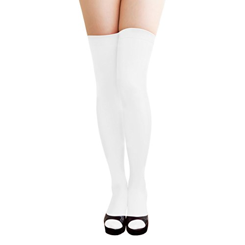 Oblique Unique Sexy Strumpfhose -halterlos- Overknee Strümpfe - Party Kostüm Fasching Karneval...