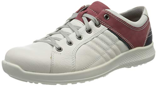 Jomos Herren Campus Ii Sneaker, Mehrfarbig (Offwhite/Oxblood 277-2044), 47 EU