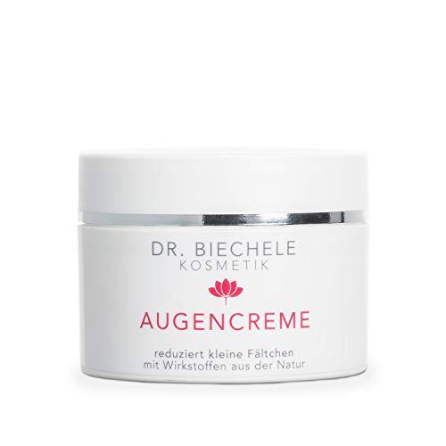 Dr. Biechele AUGENCREME 1er Pack (1 x 50 ml) - feuchtigkeits-spendene Augenpflege bei trockener, sensibler Haut für Anti-Aging Schutz gegen Augenfalten, mit Avocado-Öl & Bienenwachs