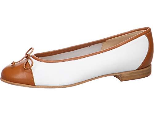 Gabriele Damen Ballerina Dolly Größe 37 EU Weiß (weiß)