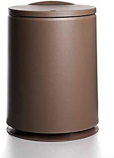 نسيج الإبداعية الضغط نوع القمامة الجولة يمكن أن البلاستيك فليب غطاء مزدوج الطبقة النفايات صناديق صغيرة الغبار بن الشمال أد...