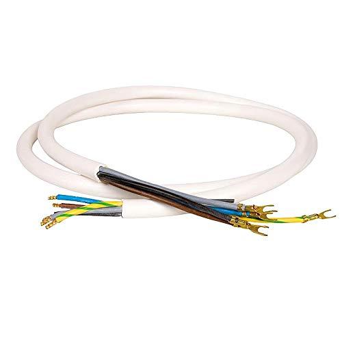 WITTKOWARE Herd-/Geräteanschlussleitung, Aderendhülsen/Kabelschuhe, 5x2,5mm², 3,0m