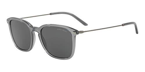 Giorgio Armani 0AR8111 Gafas de sol, Opal Grey, 54 para Hombre