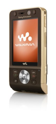 Sony Ericsson W910i Havana Bronze UMTS HSDPA Handy