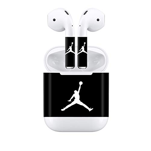 Yiliumao Skin Sticker Vinyl Decal Protective Wrap for Apple Airpods Cover Case(B)