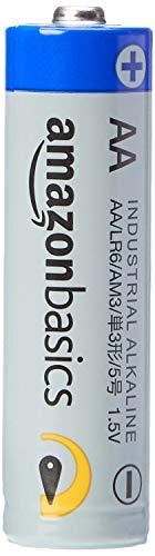 AmazonBasics Batterie industriali alcaline AA, confezione da 40