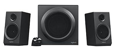 Logitech Z333 Speaker System, Multimedia Speakers with Premium Subwoofer - Black by Logitech