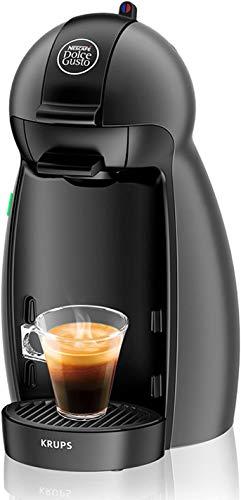 KP100B Cafetera Dolce Gusto capsulas, monodosis, 15 bares presion, cafes, cappuccino, multibebida, 1500 W, 0.6 litros, antracita