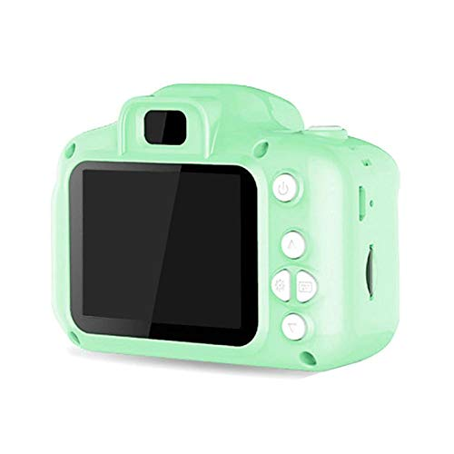 NROCF Giocattoli per Fotocamere per Bambini - Bambini Camera Digitale Screen Impermeabile Video 8 Milioni di Pixel, Fotografia Carina Fotografia All'aperto,Green No Card