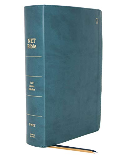 NET Bible, Full-notes Edition, Leathersoft, Teal, Comfort Print: Holy Bible