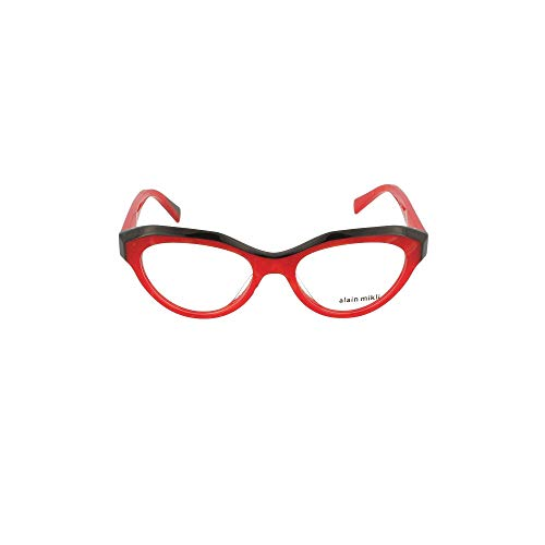 Alain Mikli Luxury Fashion Damen 3098003 Rot Acetat Brille | Jahreszeit Permanent