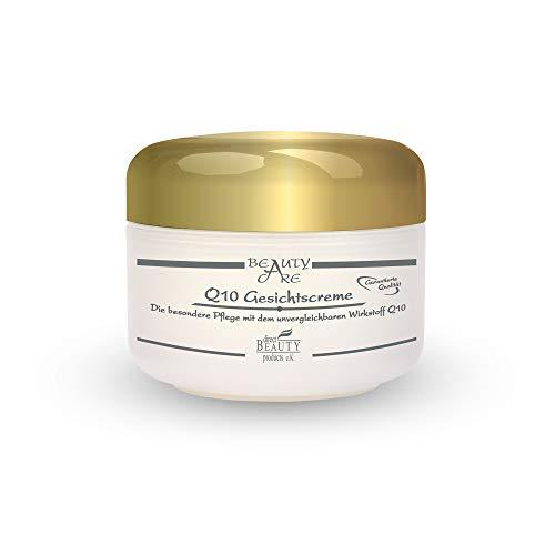 Q10 24h Anti Aging Gesichtscreme - verbessert das Hauterscheinungsbild & glättet die Haut - enthält Coenzym Q10, Avocadoöl, Sheabutter, Panthenol, Vitamin E & Allantoin / 1er Pack (1 x 50 ml)