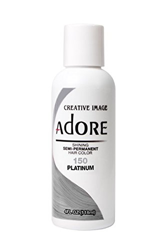 Adore Semi-Permanent Haircolor #150 Platinum 4 Ounce (118ml)
